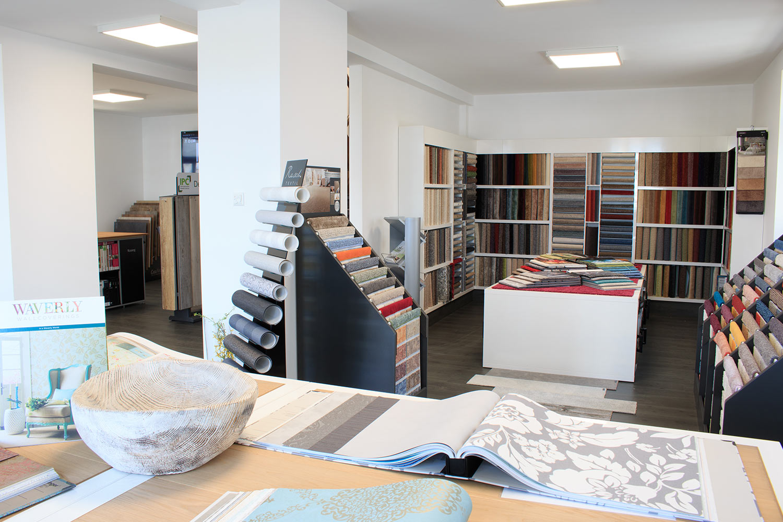 Ausstellungsfläche und Produkte von Schmidt Raumgestaltung in Montabaur - Bild 1
