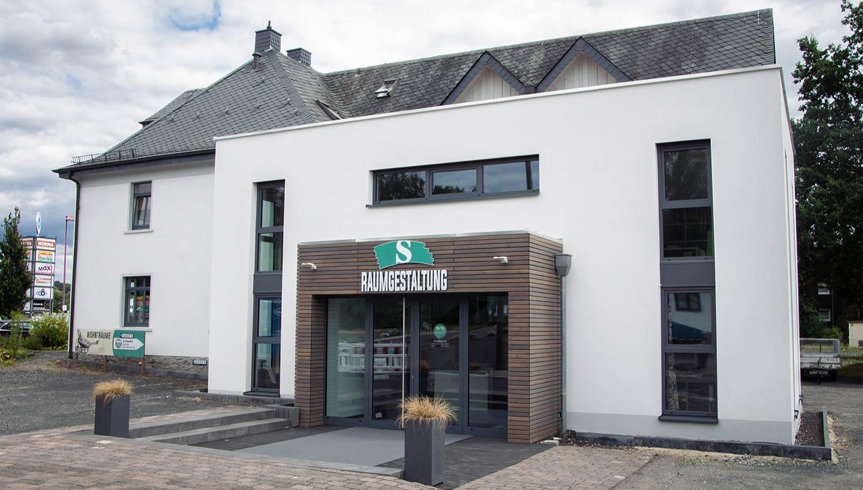 Rückansicht der Raumgestaltung Schmidt in Montabaur